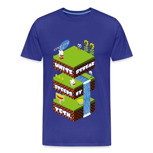 Yeth - Male Shirt - Men's Premium T-Shirt