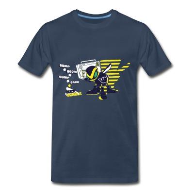 Buck Bumble - Male Shirt - Men's Premium T-Shirt