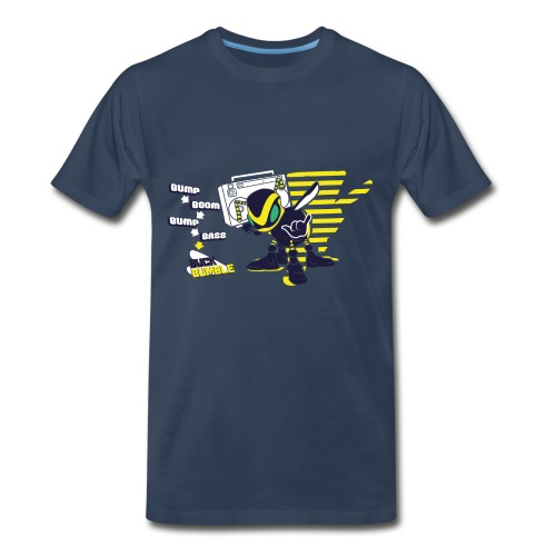 Buck Bumble - Male Shirt - Men's Premium T-Shirt
