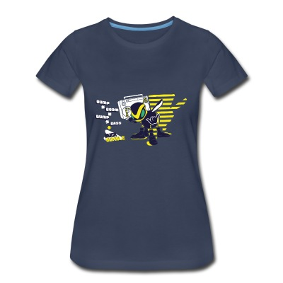 Buck Bumble - Female Shirt - Women's Premium T-Shirt