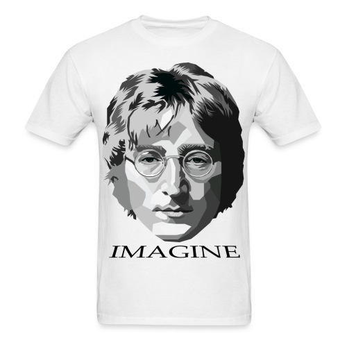 John Lennon T-Shirt (Imagine) - Men's T-Shirt