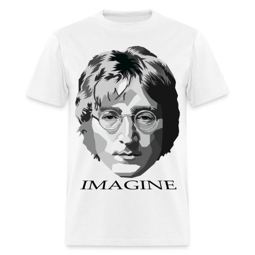 John Lennon T-Shirt (Imagine) - Men's T-Shirt