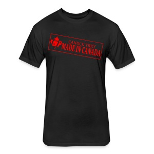 Canuck TRKY Fan Shirt w/ New Logo - Fitted Cotton/Poly T-Shirt by Next Level
