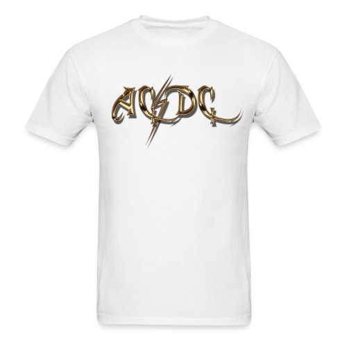 AC/DC Custom Logo T-Shirt - Men's T-Shirt