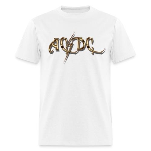 AC/DC Custom Logo T-Shirt - Men's T-Shirt