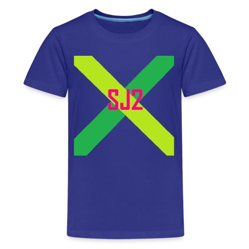 SJ2 Logo Shirt | Children - Kids' Premium T-Shirt