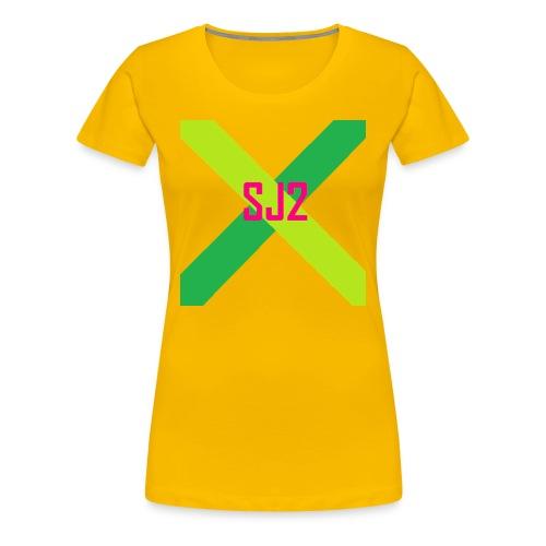 SJ2 Logo Shirt | Women - Women's Premium T-Shirt