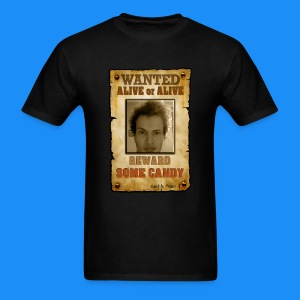 WANTED: Lukas - Alive or Alive! Reward: Some Candy (Man's T-Shirt) - Men's T-Shirt