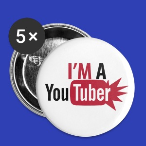 Youtuber Buttons (Large) - Large Buttons