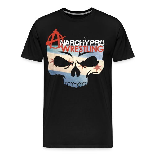 LIMITED EDITION - AnarchyPro Chicago Flag - Men's Premium T-Shirt