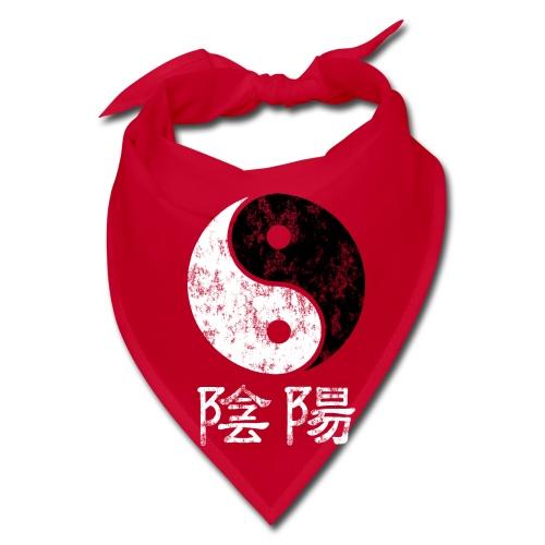Yin Yang symbol and words - Bandana