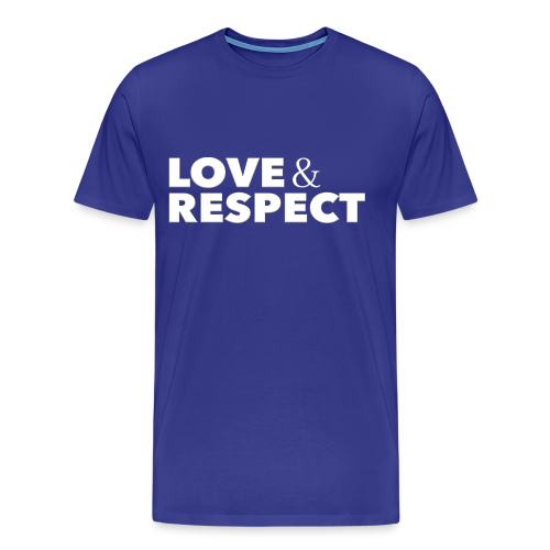Love & Respect - Men's Premium T-Shirt