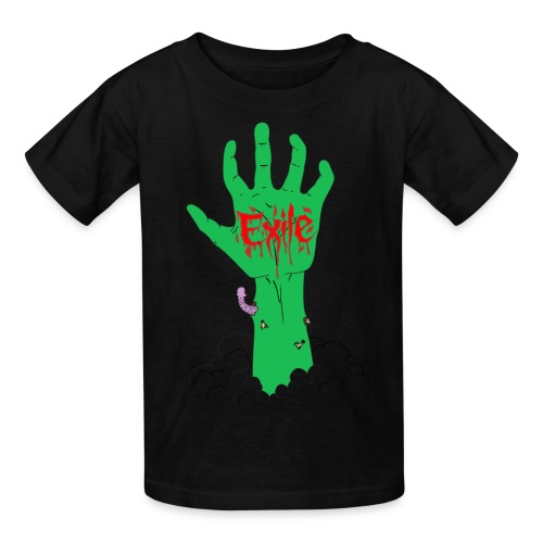 Arise kids sizes green severed zombie hand - Kids' T-Shirt