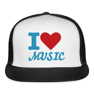I Love Music - Hat - Trucker Cap
