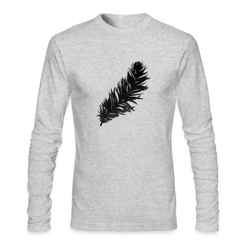 Feather Men's Active Long Sleeve - Men's Long Sleeve T-Shirt by Next Level