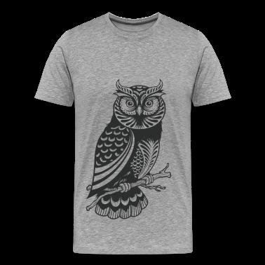 Owl design material t shirts t shirt spreadshirt for T shirt design materials