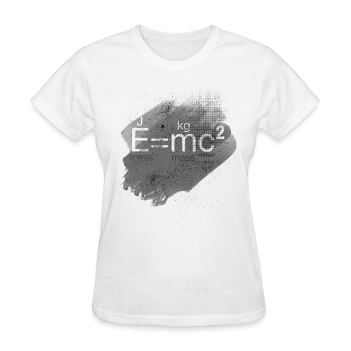 Mass–energy equivalence - Women's T-Shirt