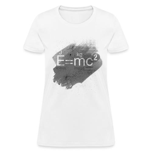 Mass–energy equivalence - Women's T-Shirt