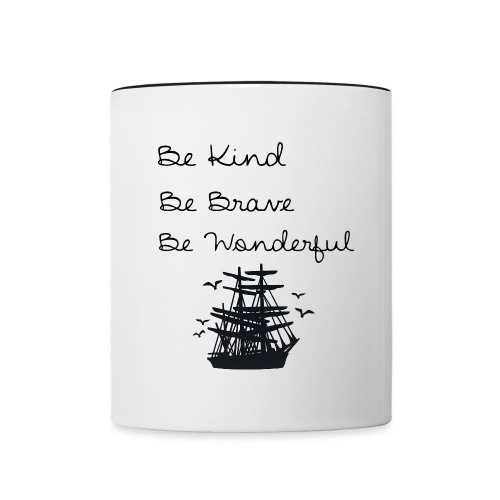 Be Wonderful mug  - Contrast Coffee Mug