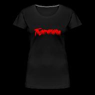 Women's T-Shirts ~ Women's Premium T-Shirt ~ TRUMPAMANIA Donald Trump Women's T-Shirt