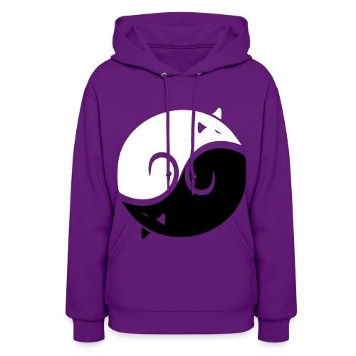 Yin Yang Women's Hoodie - Women's Hoodie