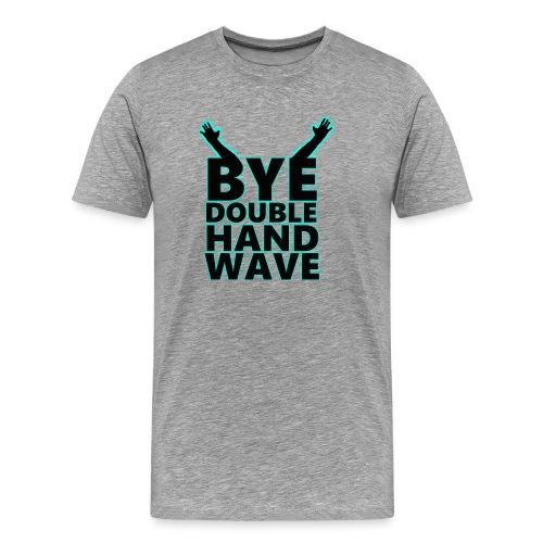 Double Hand Wave - Men's Premium T-Shirt