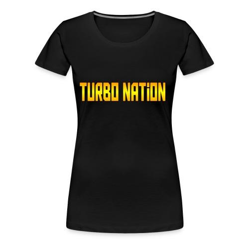J.B. Turbo - Women's Premium T-Shirt