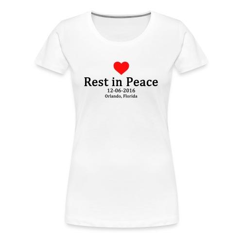 Womans T-shirt - Rest in Peace - Women's Premium T-Shirt