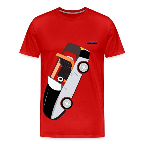 Busyhandz racer men's premium T. shirt - Men's Premium T-Shirt