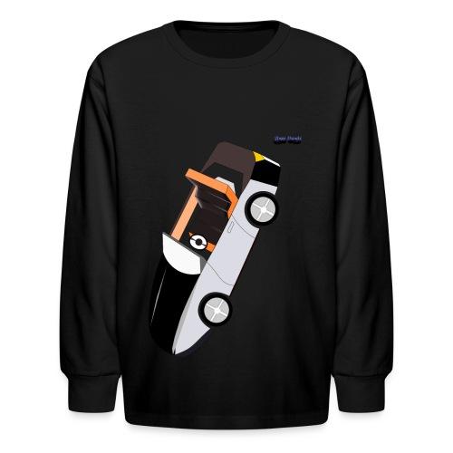 Busyhandz racer kid's  long sleeveT. shirt - Kids' Long Sleeve T-Shirt