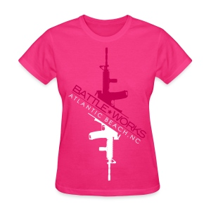 Battle Works - Hi Lo - Women's T-Shirt