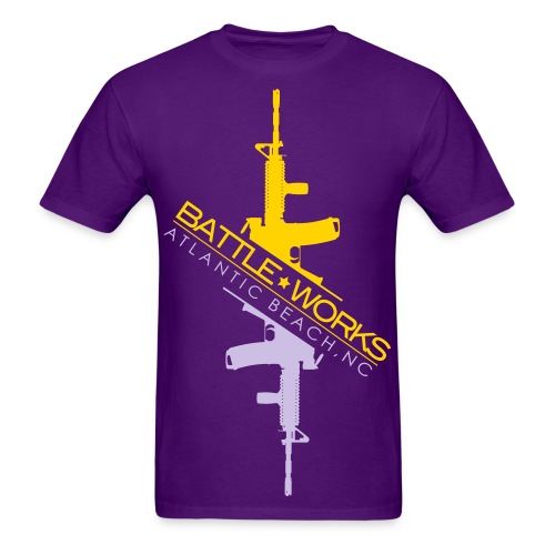 Battle Works - Hi Lo - Men's T-Shirt