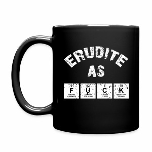 Erudite As Fuck Mugs & Drinkware - Full Color Mug