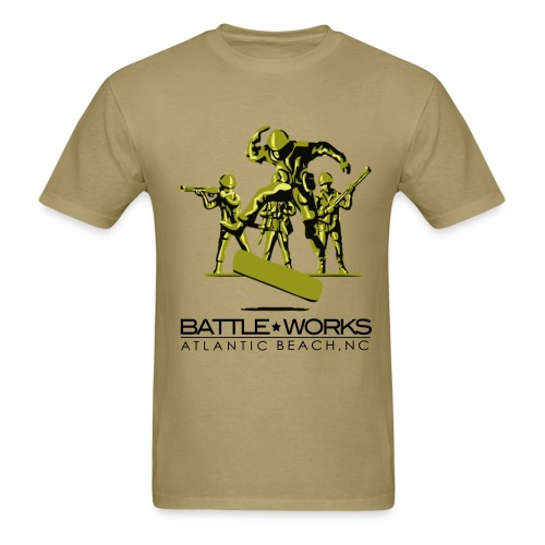 Battle Works - Flip Kick - Men's T-Shirt