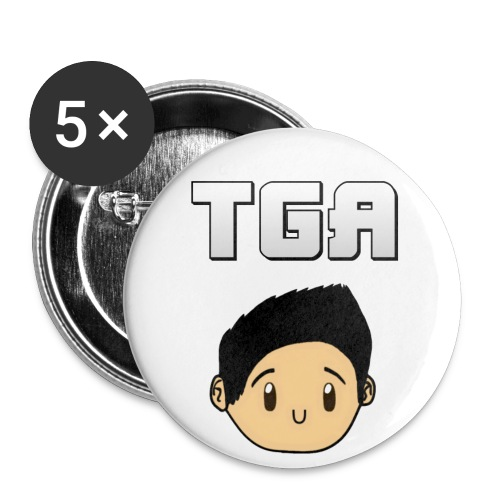The Gamin' Asian Buttons (Small) - Small Buttons