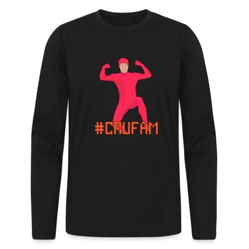 #Crufam - Mens Long Sleeve - Men's Long Sleeve T-Shirt by Next Level