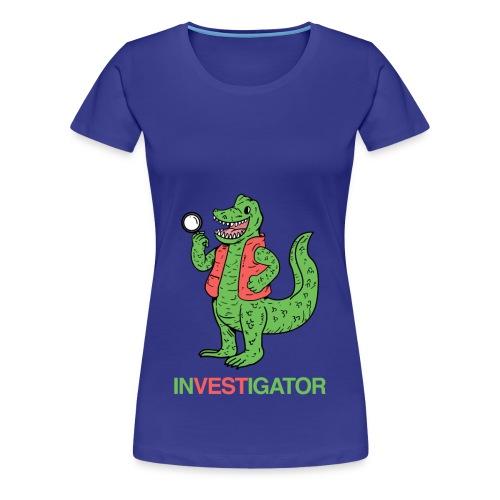 InVESTigator Women's Premium Tee - Women's Premium T-Shirt