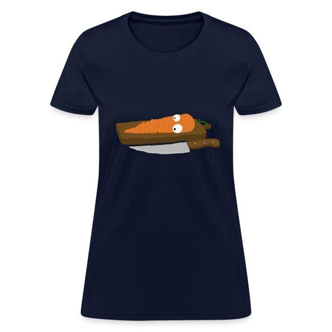 Carrot Slice Women's T-Shirt