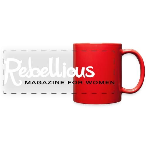 Rebellious Magazine Mug - Full Color Panoramic Mug