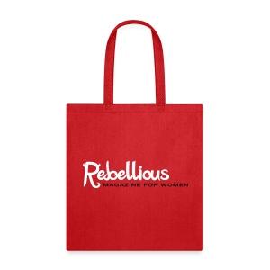 Rebellious Magazine Tote - Tote Bag