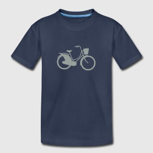 old bicycle retro 1103 Kids' Shirts - Kids' Premium T-Shirt
