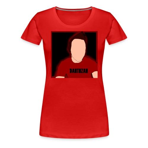 DarthZak Cartoon Women's T-Shirts - Women's Premium T-Shirt