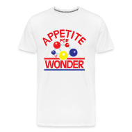 T-Shirts ~ Men's Premium T-Shirt ~ Appetite for Wonder by Tai's Tees