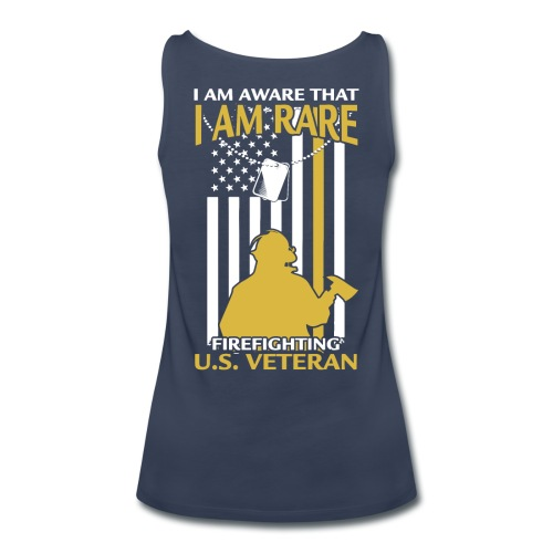 Firefighter US Veteran - Women's Premium Tank Top