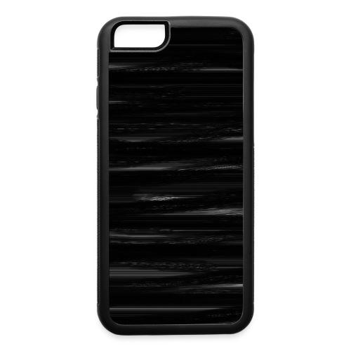 black texture - iPhone 6/6s Rubber Case