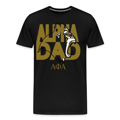 Alpha Dad - Men's Premium T-Shirt