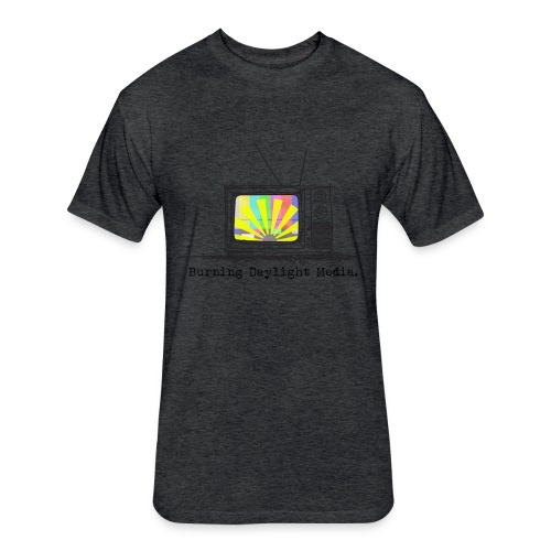 Burning Daylight Media Fitted Cotton/Poly T-shirt - Fitted Cotton/Poly T-Shirt by Next Level
