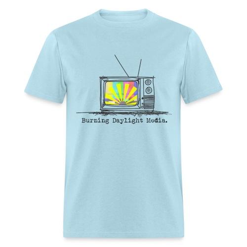 Burning Daylight Media Cotton T-shirt Mens - Men's T-Shirt