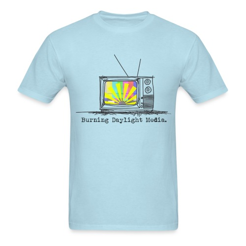 Burning Daylight Media Cotton T-shirt Mens - Men's T-Shirt