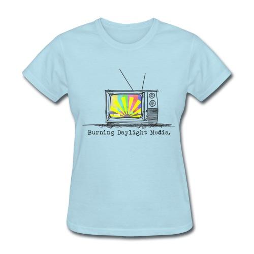 Burning Daylight Media Cotton T-shirt Ladies - Women's T-Shirt